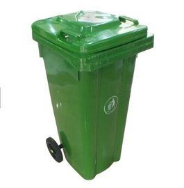 Outdoor Plastic Molded Products , Recycling Commercial Garbage Cans With Lid